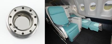 flugzeugsitz und Mutter kombiniertes Foto-1